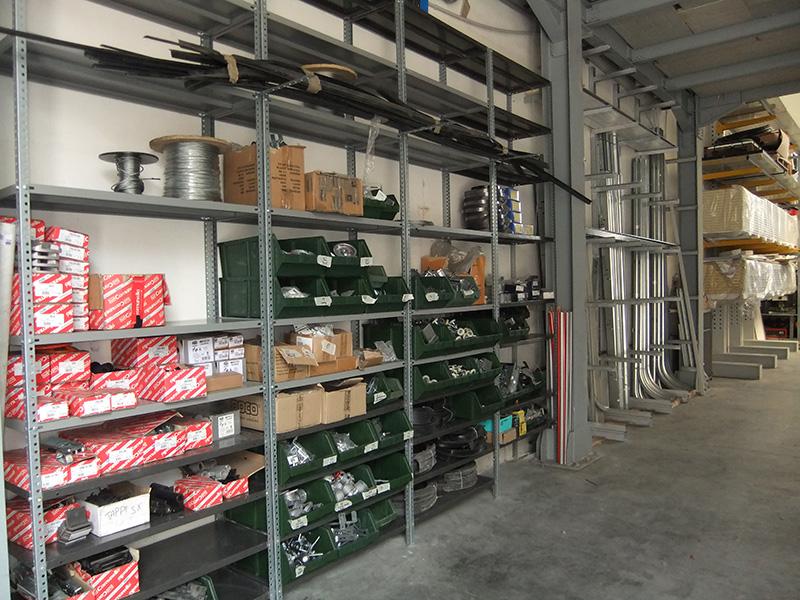Area Ricambi e Accessori Portoni Industriali