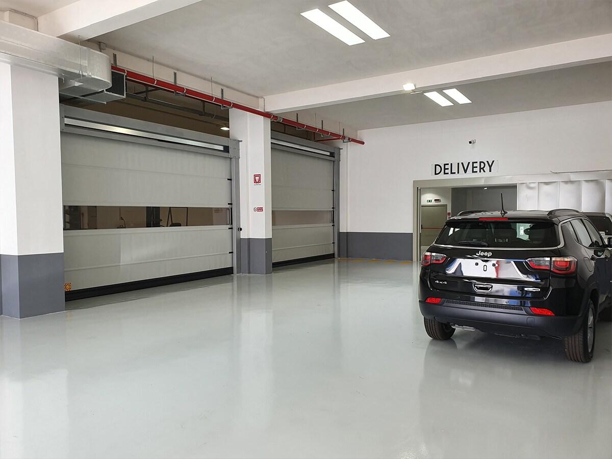 PORTE AUTOMATICHE INDUSTRIALI RAPIDE E FLESSIBILI IN PVC – Porte ad Avvolgimento Standard